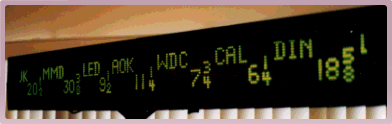 LED Stock ticker board