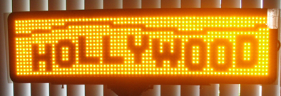 Window LED sign