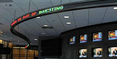 Flexible Stock ticker